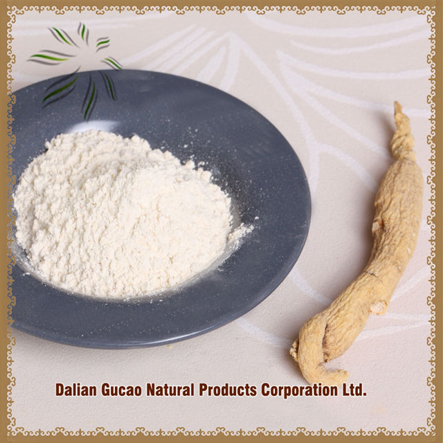 white/red ginseng extract powder 100% natural