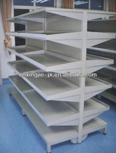 SUS01Hot Selling Supermarket Multi Layers Metallic Supermarket Shelf