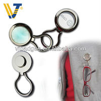 novelty metal magnetic eyeglass holder for mother's day
