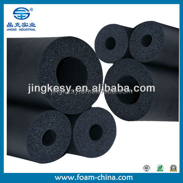 Thermal insulation tubing, foam pipe insulation, tube foam pad Cheap Polyethylene custom-made pe foam insulation pipe