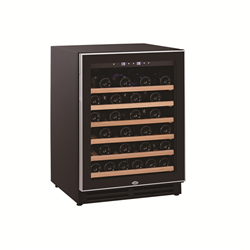 46 Bottles single zone built in kitchen wine storage fridge coolers chiller