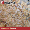 Newstar polished pizza gold granite colors for kitchen worktops