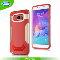 New hybrid tpu pc phone case for samsung note 5