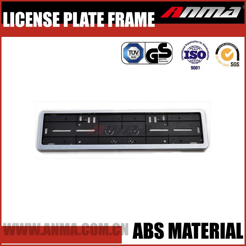 european license plate frame holder