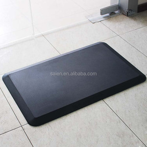 waterproof memory foam soft office standing desk anti slip mat
