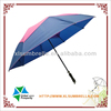 High quality fiberglass double-canopy unique golf umbrella