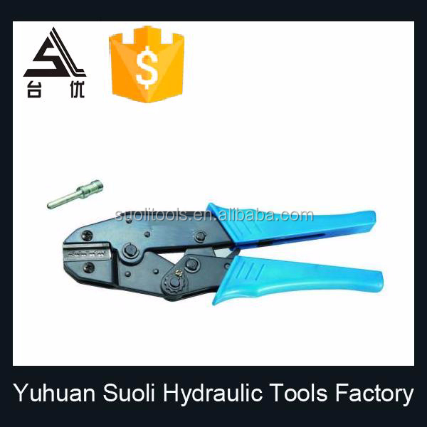 crimping tools for ferrule steel wire ropes for non-insulated cable links connectors cable lug crimping tool HS-05D