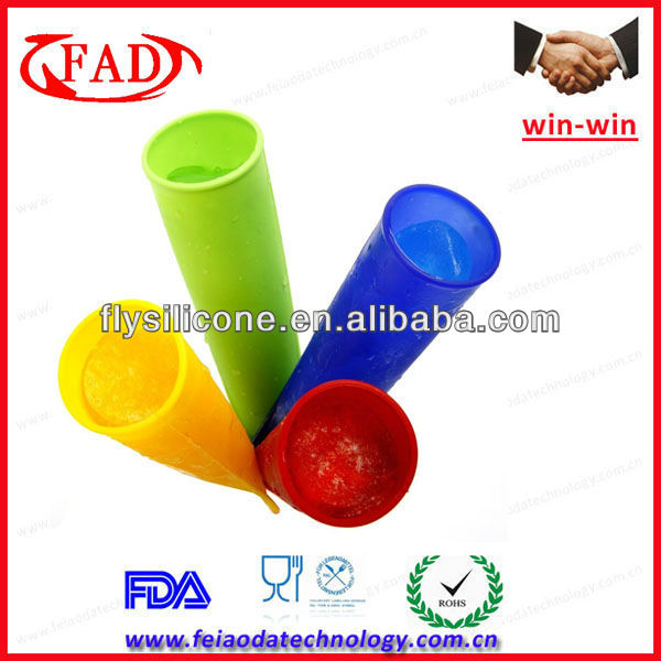 Fish Shape Nonstick Silicone Ice Cube Tray For Promotion