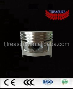 4 stroke aluminum motorcycle piston for FB100