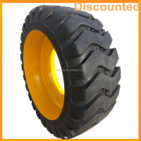 Mini Loader Backhoe Excavator Dumper Solid Tires 23.5-25 26.5-25 With Rims