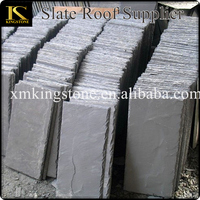 House decorative irregular rough black roof slate