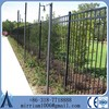 Metal Frame Material and Fencing, Trellis & Gates Type wrought iron garden border fence china supplier