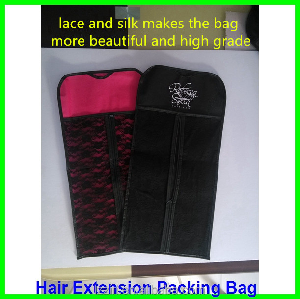 Custom hair garment bags with hanger stand up zipper hair custom hair garment bags with hanger stand up zipper hair extension package bag pmusecretfo Choice Image