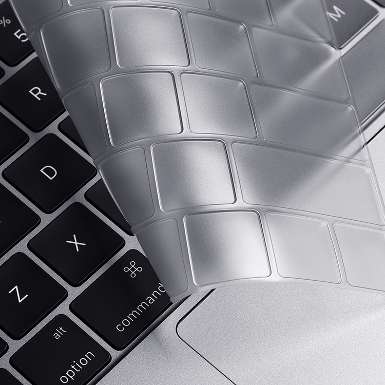 New Custom pattern silicone keyboard skin cover for microsoft surface book