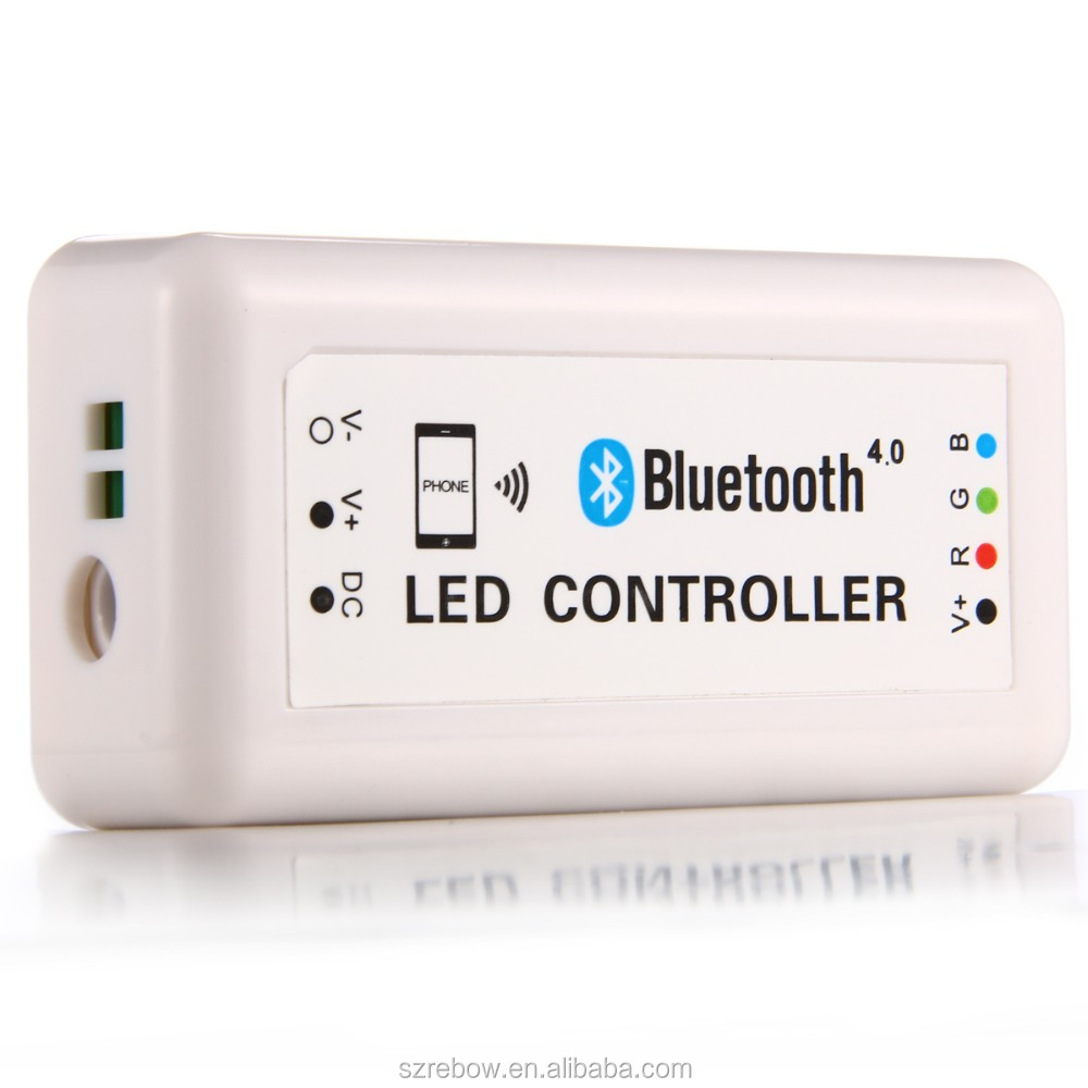 3CH IOS or Android 12V 24V DIM RGB CCT RGBW LED controller Bluetooth RGBW Controller