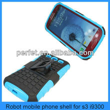 Hot selling robot design cute case for samsung galaxy s3 mini case