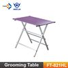 FT-821H promotional ultra light-weighted pet show table, grooming table for dogs