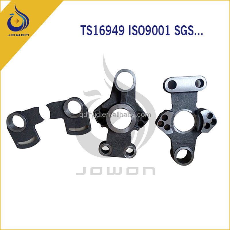 ISO/TS16949 certificated cnc machining forging parts steel casting