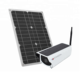GSM 3G 4G SIM Card CCTV Camera with 15W Solar Panel