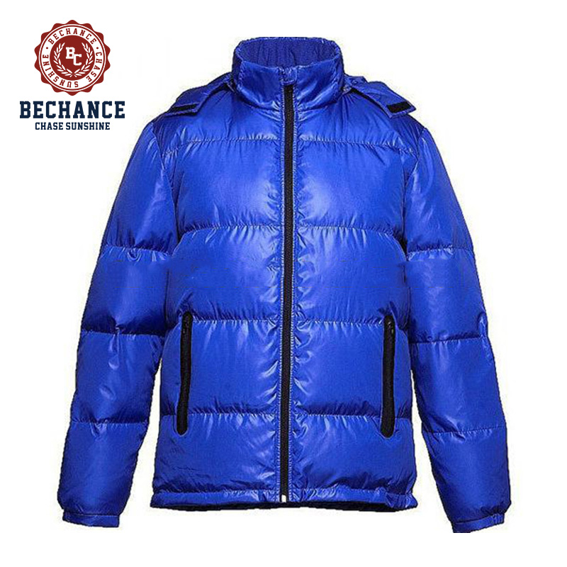 WL1408 winter down jacket puffy coat blue jacket for men