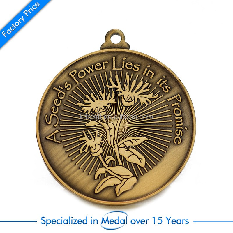 Personalized promotion gift race medal