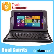 Leather Bluetooth Keyboard Case for ASUS M80TA Tablet