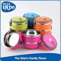 Fashion round design food containers wholesale japanese bento box