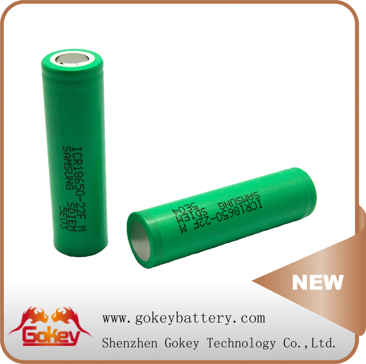 Rechargeable batteries for self balancing scooter 3.7v 2200mah 18650 li-ion battery