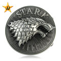 Hot Sale Fashion Zinc Alloy Eagle Head Reversible Belt Buckle for Men