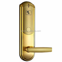Top selling RF Card Hotel Door Lock hotel key card door lock with free handle for Hotel Home Office PY-8330-J