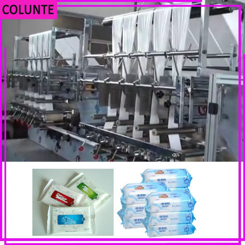 Wet baby wipe napkin making machine wet tissue making machine