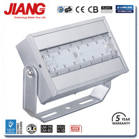 5 Years Warranty IP66 Rate 60 Degree Lens Code CE CB GS ROHS DLC TUV Approved LED Flood Light