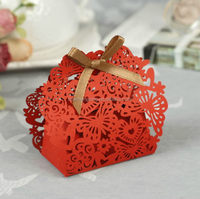 Top grade cheapest candy apple shape boxes