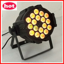WLP-01-5 18 pcs rgbwa(uv) 5 in 1(or 6 in 1) 15w leds indoor par can rgbwa uv wash