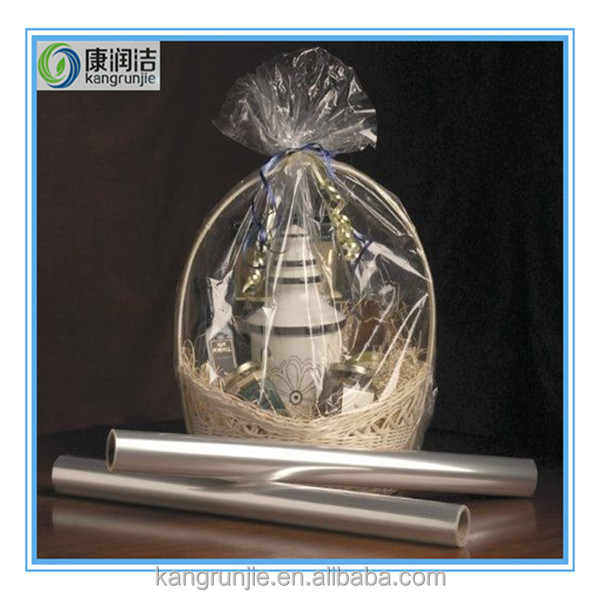 100% degradable plastic bag, Clear Cellophane Gusset Bag Party Bags Favour Crafts Sweets Display Gifts Cello