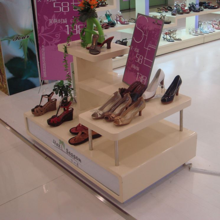 chinese imports wholesale Metal wood display nike shoes