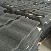 Hot Building Material Fashion Stone Coated Roman Types of Metal Roof Tile