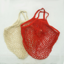 Grocery Shopper mesh net woven cotton net bags hand totes