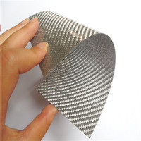 High quality Colored 3K Carbon Fiber Flexible plate/board 0.5mm