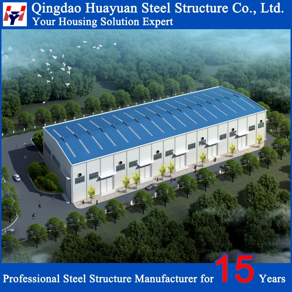Chinese Prefabricated Steel Warehouse Buildings for Sale