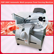 Hot Sale Functional Easy Operated Frozen Meat Pork Beef Slicer Machine