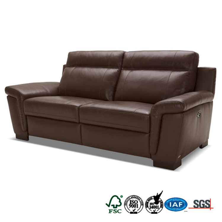 2017 new design relaxing leather living room funiture sofa