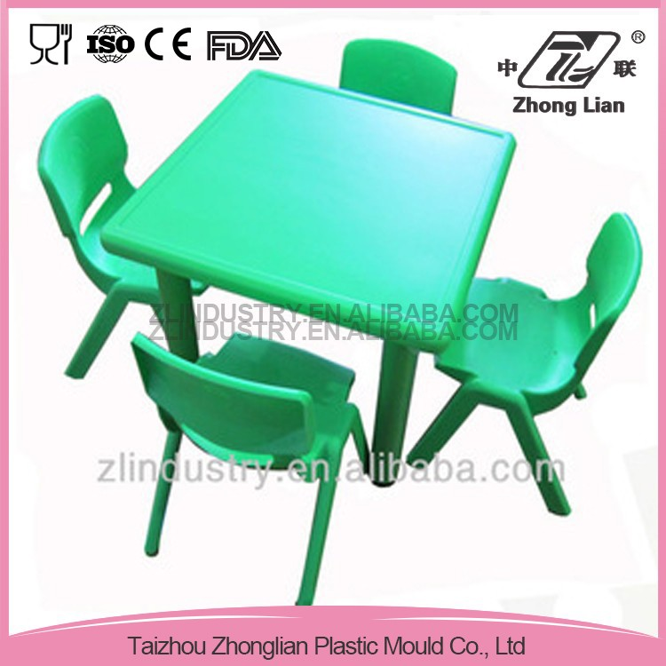China market new design plastic kids chair and table