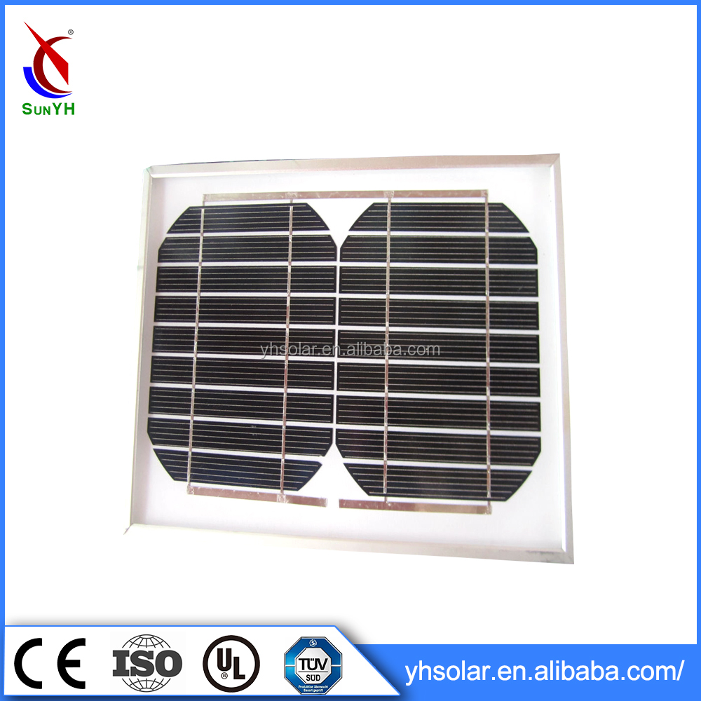 Newest Design High Quality Solar Panel System Small Panel 3w Mono Solar Module