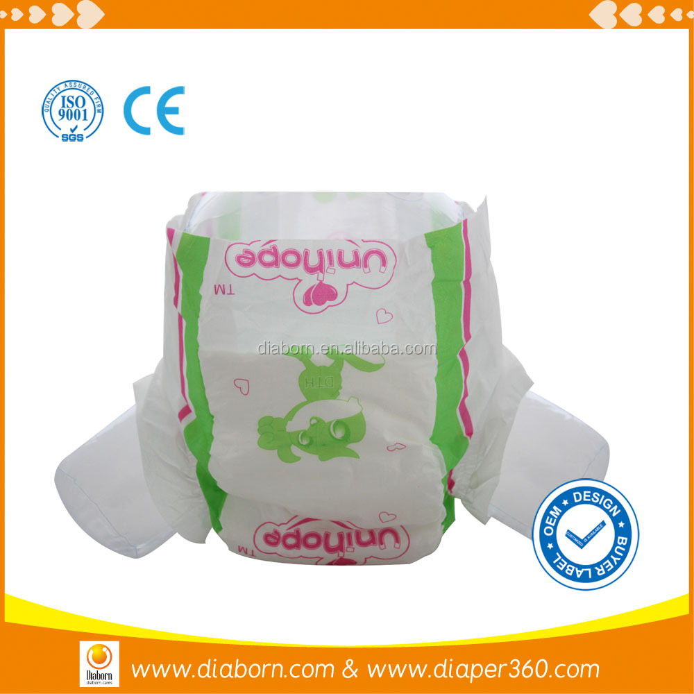 Low price good quality eco friendly baby diapers
