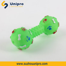 vinyl toy bouncy ball dog toys with squeakers vinyl toy production