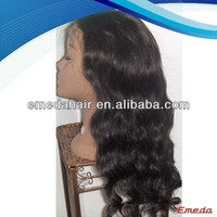 Grade AAAAA qualiy baby hair no shedding tangle free very cheap lace front wigs with baby hair
