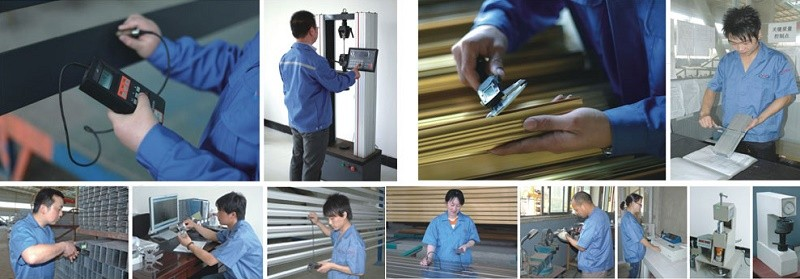 wooden grain aluminium extrusion profile