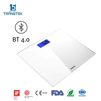 Customized colors available digital bathroom scale with Bluetooth 4.0