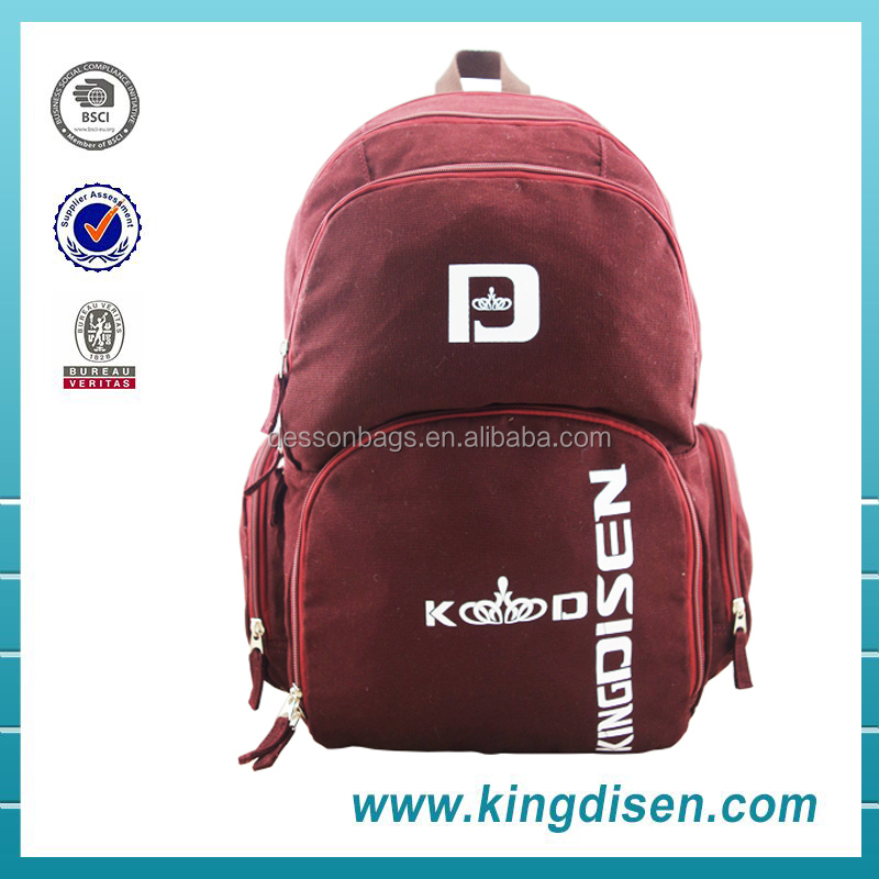 Fashion 2016 sport college bag for girls